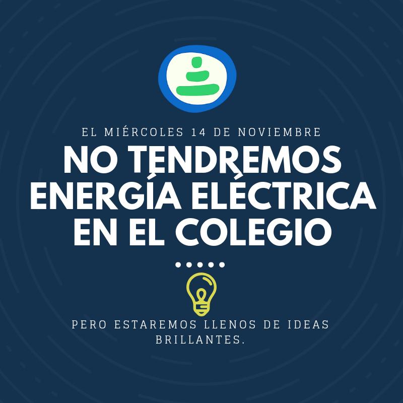MAÑANA NO TENDREMOS ENERGÍA